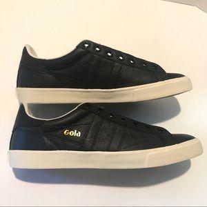 Gola Shoes - Gola Orchid Black Leather Women's Sneaker  8